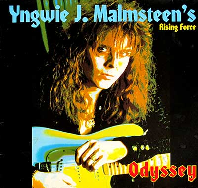 "Thumbnail of YNGWIE J MALMSTEEN's RISING FORCE - Odyssey 12"" Vinyl LP album front cover"