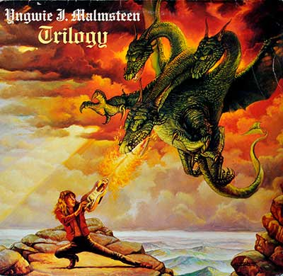 "Thumbnail of YNGWIE J. MALMSTEEN - Trilogy 12"" Vinyl LP album front cover"