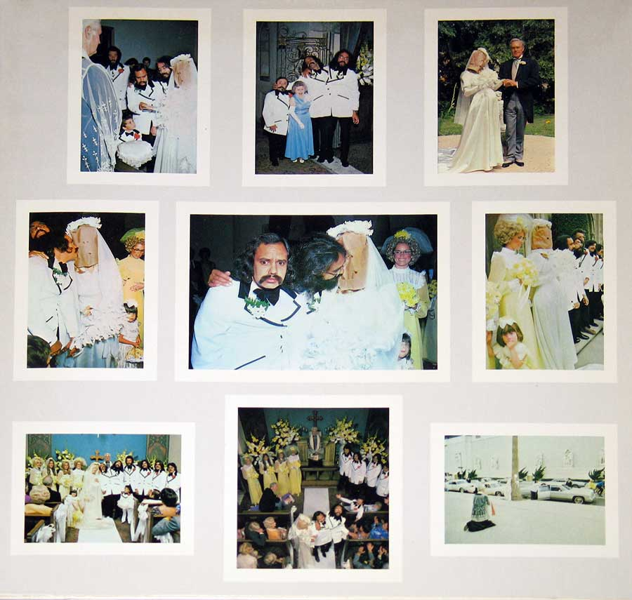"Photo of the left page inside cover CHEECH CHONG's - Wedding Album Gatefold Cover 12"" VINYL LP ALBUM"