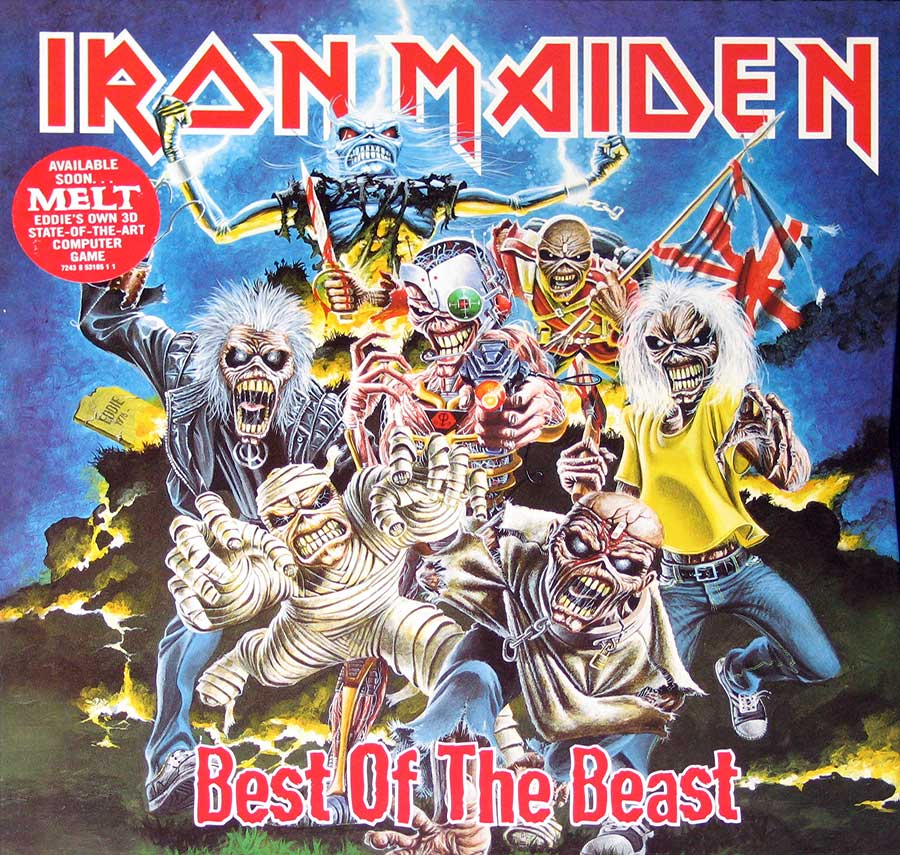large photo of best of the beast by iron maiden