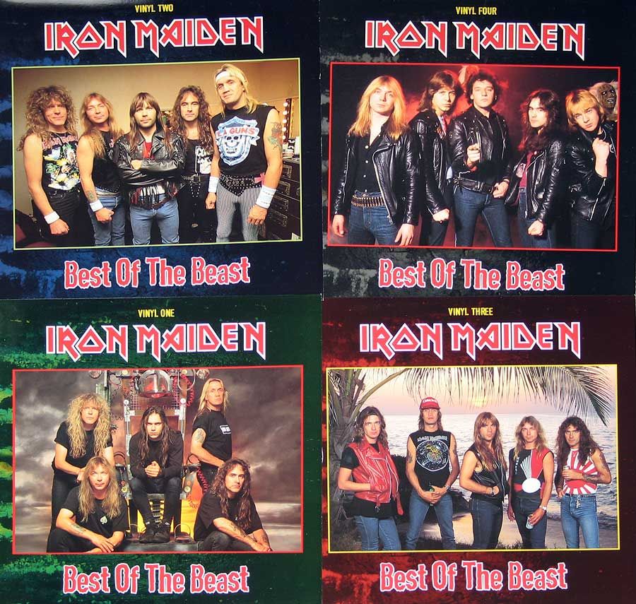 High Resolution Photo #2 iron maiden best beast 4lp box-set