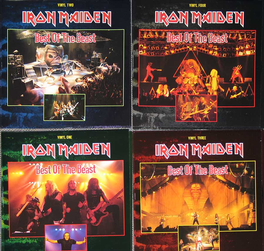 High Resolution Photo #3 iron maiden best beast 4lp box-set