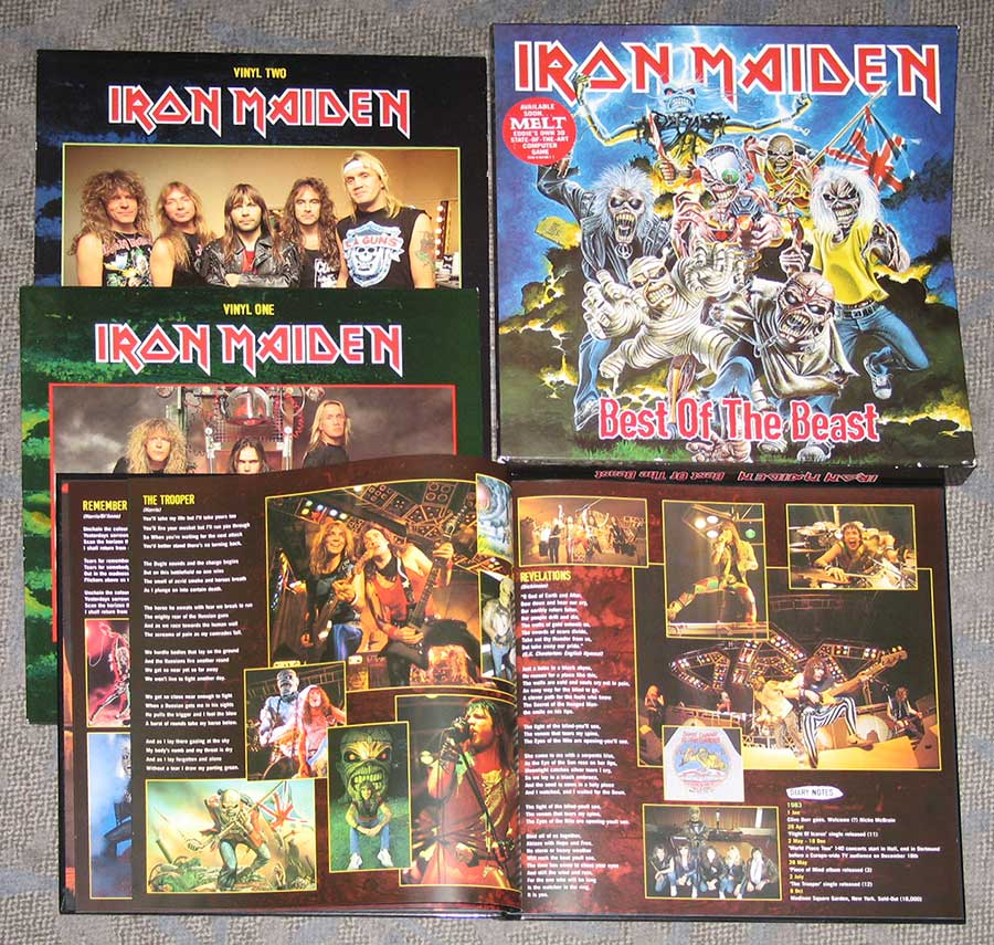 High Resolution Photo #5 iron maiden best beast 4lp box-set