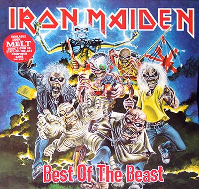 IRON MAIDEN - Best of the Beast ( 4LP Collectors Box-Set )
