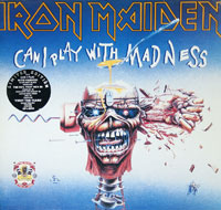 IRON MAIDEN - Can I play With Madness first Ten Years 2LP Limited Edition