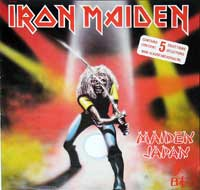 Thumbnail Of  IRON MAIDEN - Maiden Japan ( Canada ) album front cover