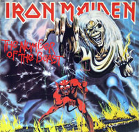 Thumbnail Of  IRON MAIDEN - The Number Of The Beast Canada album front cover