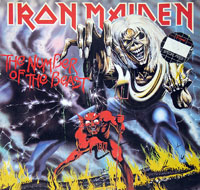 Thumbnail Of  IRON MAIDEN - The Number of the Beast Germany album front cover
