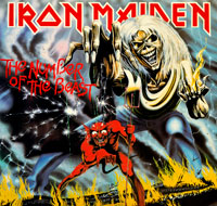 Thumbnail Of  IRON MAIDEN The Number Of The Beast (EEC)  album front cover