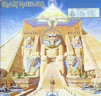 Thumbnail Of  IRON MAIDEN - Powerslave ( EEC ) album front cover