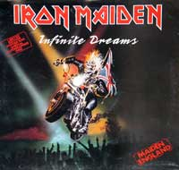 IRON MAIDEN - Infinite Dreams ( Limited Edition Poster Bag  , Live )