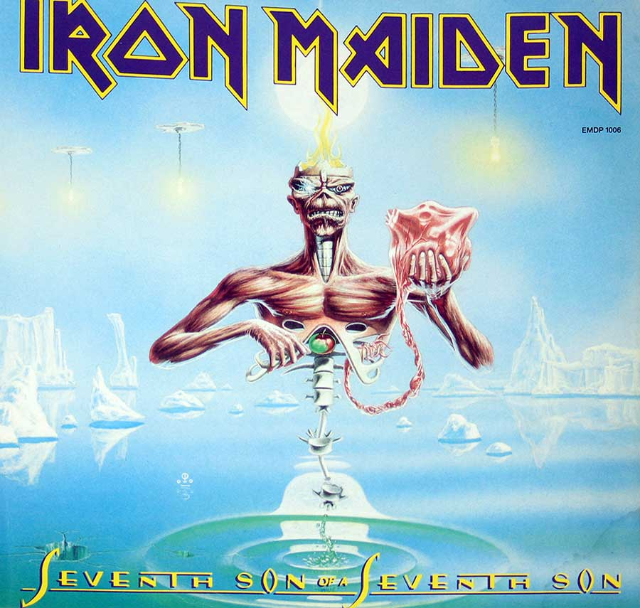 "IRON MAIDEN - Seventh Son Of A Seventh Son Picture Disc 12"" Vinyl  front cover https://vinyl-records.nl"