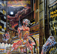 Thumbnail Of  IRON MAIDEN - Somewhere In Time Europe album front cover
