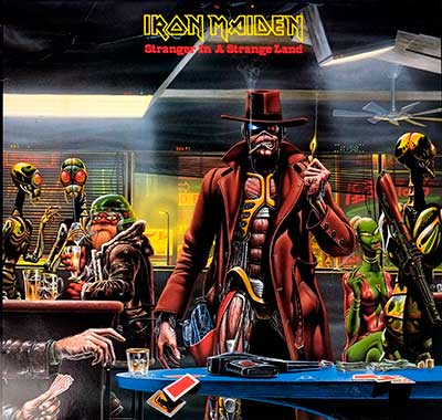 "Thumbnail Of  IRON MAIDEN - Stranger in a Strange Land 12"" Maxi  album front cover"