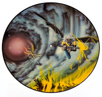 "IRON MAIDEN - Flight of Icarus 12"" Picture Disc"