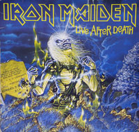 Thumbnail Of  IRON MAIDEN - Live After Death France album front cover