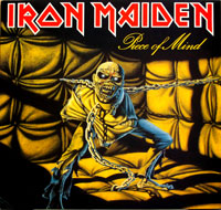 Thumbnail Of  IRON MAIDEN - Piece of Mind  ( France ) album front cover