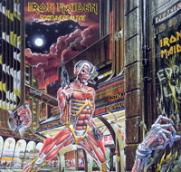 Thumbnail Of  IRON MAIDEN - Somewhere In Time france album front cover