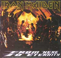 IRON MAIDEN - From Here To Eternity ( Fold-Out Sleeve )