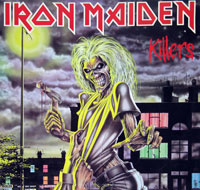 Thumbnail Of  IRON MAIDEN - Killers Label-Art (Germany)