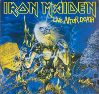 Thumbnail Of  IRON MAIDEN - Live After Death 2LP Booklet DE album front cover