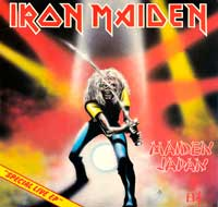 "Thumbnail Of  	IRON MAIDEN Maiden Japan 12"" MAXI-EP  album front cover"