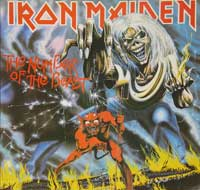 Thumbnail Of  IRON MAIDEN The Number of the Beast ( Germany ) album front cover