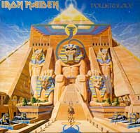 Thumbnail Of  IRON MAIDEN - Powerslave ( Germany, Europe )  album front cover