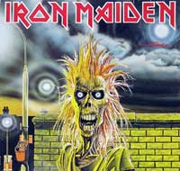 IRON MAIDEN - Iron Maiden ( Self-titled , Germany )