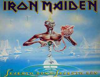 Thumbnail Of  IRON MAIDEN - Seventh Son of a Seventh Son Germany album front cover