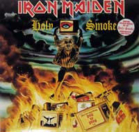 IRON MAIDEN - Holy Smoke ( includes Huge Poster   )