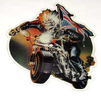IRON MAIDEN - Infinite Dreams ( Shaped PD , Cut-To-Shape  Picture Disc   )