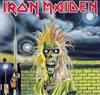 IRON MAIDEN - Self-TItled (Japan)