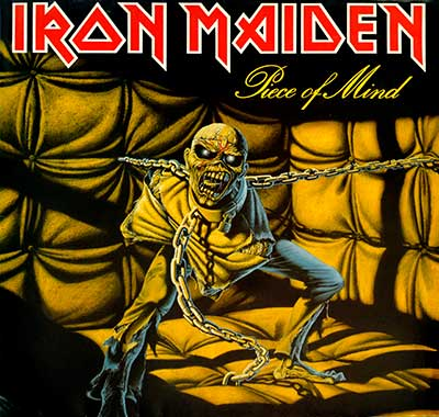 Thumbnail Of  IRON MAIDEN - Piece of Mind Gatefold (1983, Holland )  album front cover