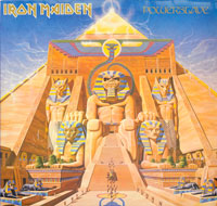 Thumbnail Of   IRON MAIDEN - Powerslave ( Netherlands, Europe ) album front cover