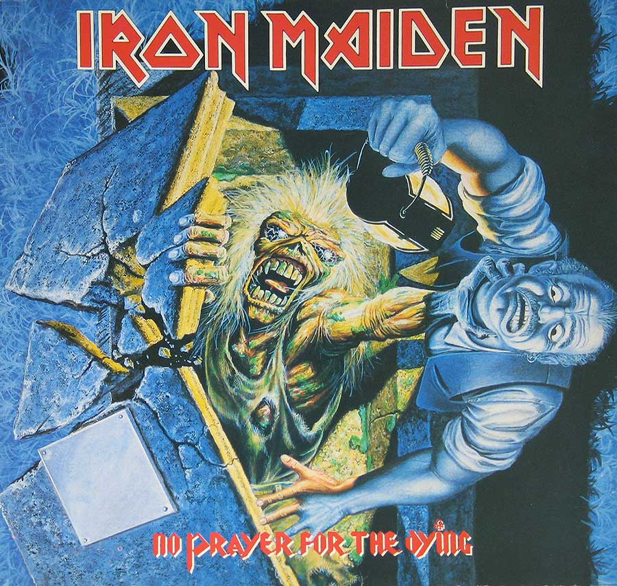 Front Cover Photo Of IRON MAIDEN - No Prayer For The Dying ( EEC )