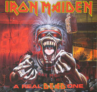 Thumbnail Of  IRON MAIDEN - A Real Dead One ( Live ) album front cover