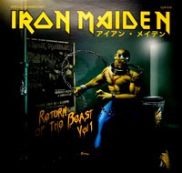 Thumbnail Of  IRON MAIDEN - Return Of The Beast Vol. 1 (Green Vinyl)  album front cover