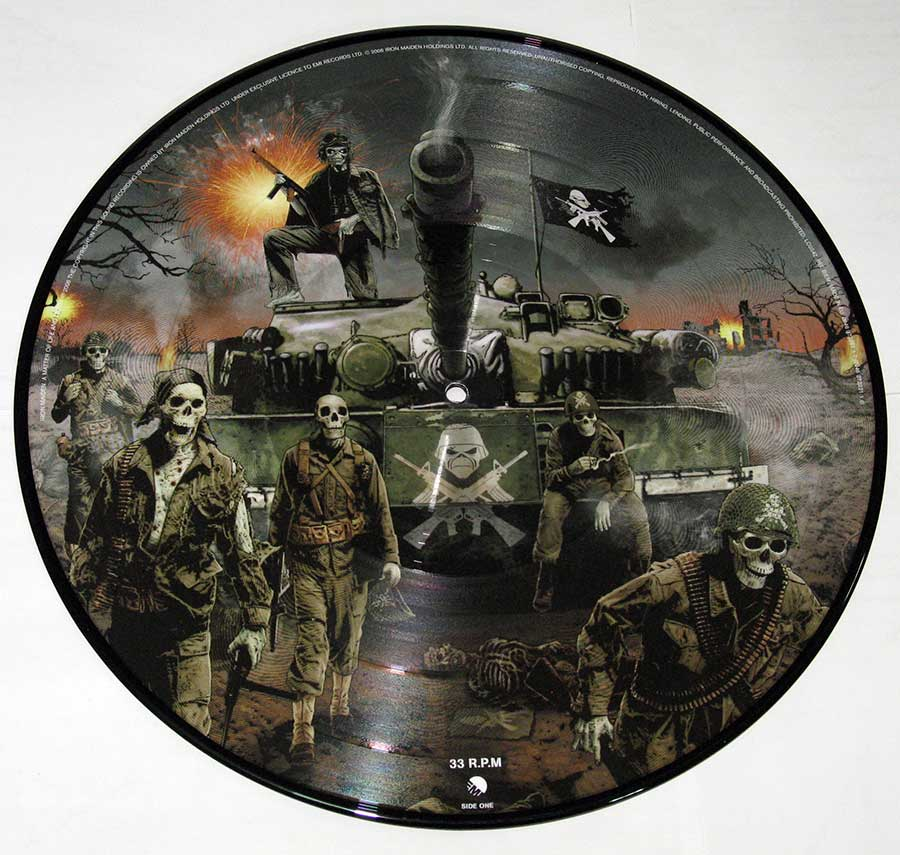 IRON MAIDEN - A Matter Of Life And Death 2LP PICTURE DISC vinyl lp record