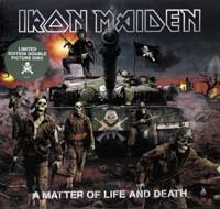 Thumbnail Of  IRON MAIDEN - A Matter of Life of Death 2LP album front cover