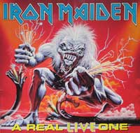 Thumbnail Of  IRON MAIDEN - A Real Live One ( Live ) album front cover