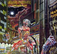 Thumbnail Of  IRON MAIDEN - Somewhere in Time United Kingdom album front cover