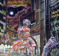 Thumbnail Of  IRON MAIDEN - Somewhere in Time USA album front cover