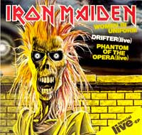 "Thumbnail Of  IRON MAIDEN - Women In Uniform 12"" EP  album front cover"