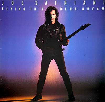 "Thumbnail of JOE SATRIANI - Flying in a Blue Dream 12"" Vinyl LP Album album front cover"