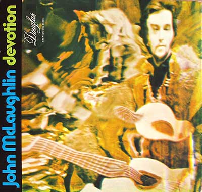 "Thumbnail of JOHN MCLAUGHLIN - Devotion Gatefold 12"" LP VINYL ALBUM album front cover"