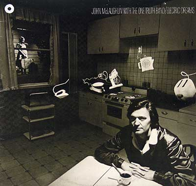 "Thumbnail of JOHN MCLAUGHLIN WITH THE ONE TRUTH BAND - Electric Dreams 12"" VINYL LP ALBUM album front cover"