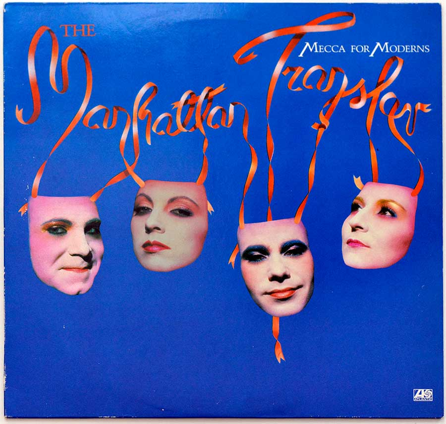 THE MANHATTAN TRANSFER - Mecca For Moderns front cover https://vinyl-records.nl