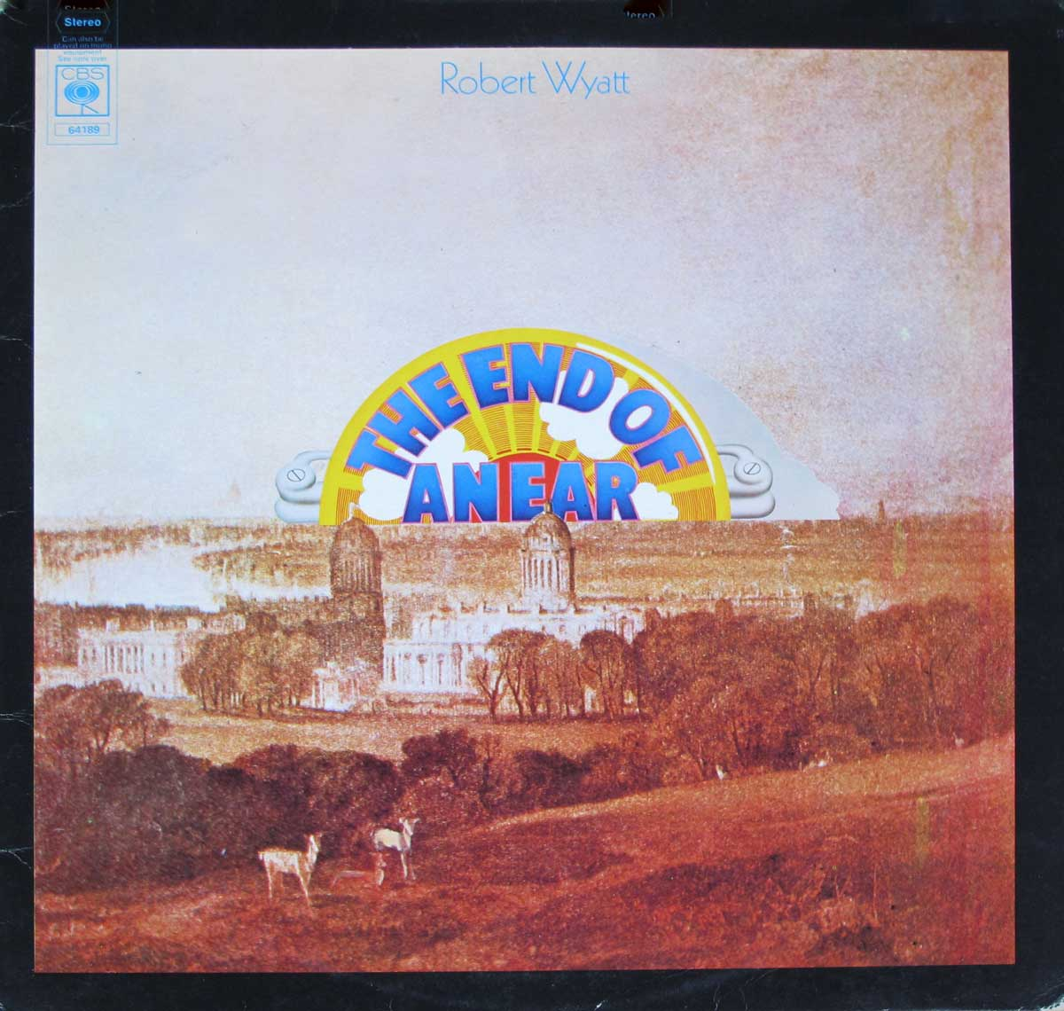 "large photo of the album front cover of: ROBERT WYATT End Of An Ear Uk England 12"" LP VINYL ALBUM"