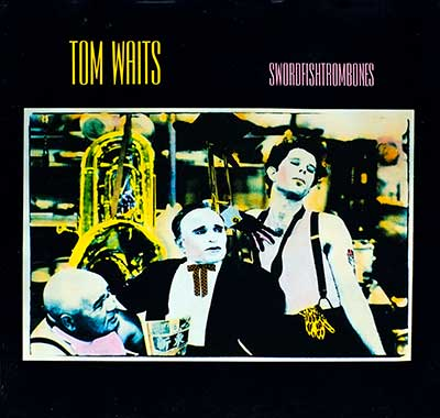 Thumbnail of TOM WAITS - Swordfishtrombone album front cover